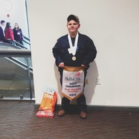 Tyler Hood wins Skills USA Competition